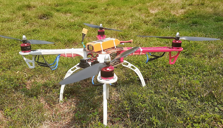 Thermal Screening Drone
