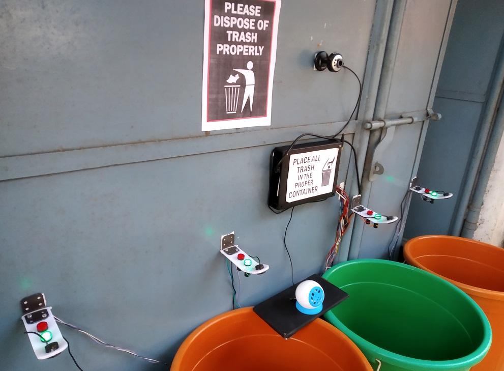 IOT Smart Garbage Segregation Dustbin