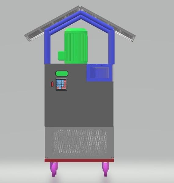 Nevon solar air purifier