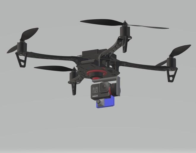 Nevon Filming 4K HD Drone