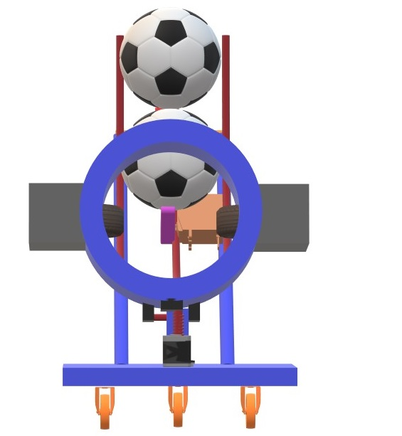 Nevon football shooter machine
