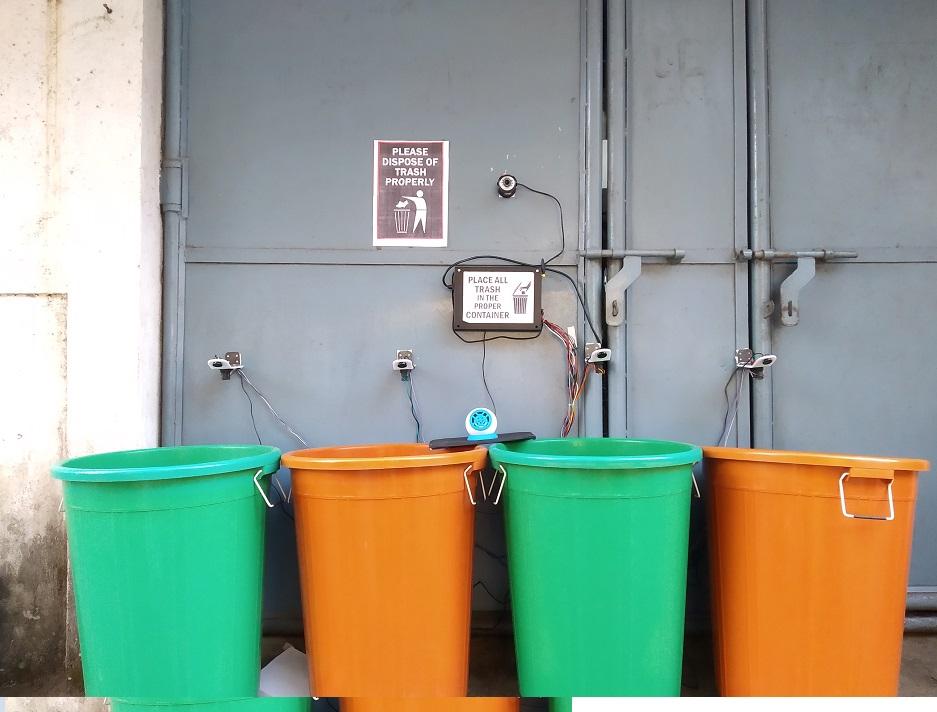 Nevon IOt garbage bin segregation