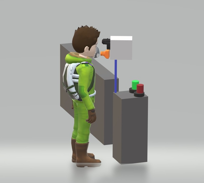 Nevon temperature mask scan