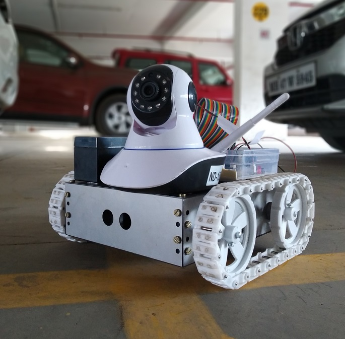 Raspberry pi inspection robot