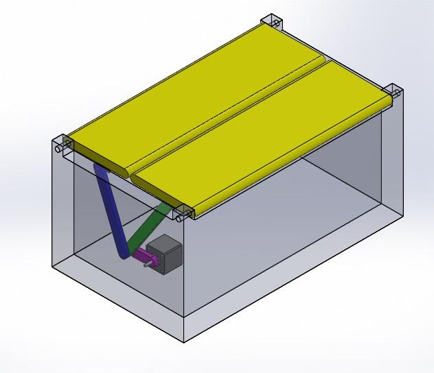 Nevonprojects double door opener motor