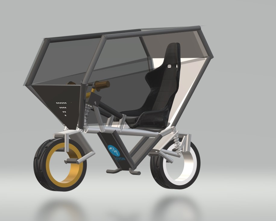 Nevonprojects all weather ebike