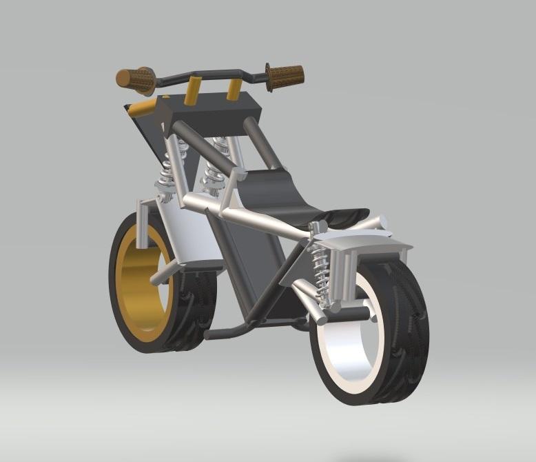 nevon hubless bike concept