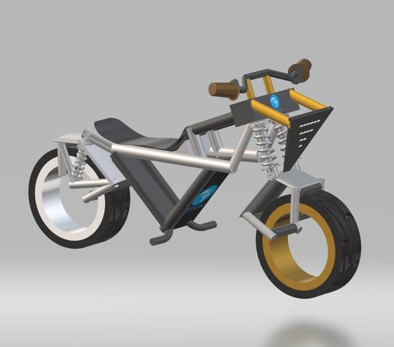 nevon hubless bike design
