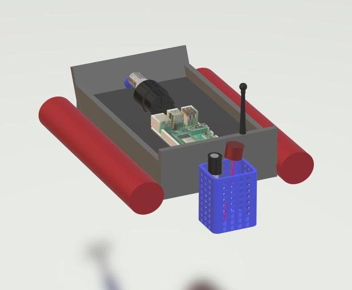 nevon water pollution ph sensor boat