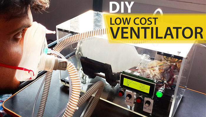 DIY Ventilator using Arduino