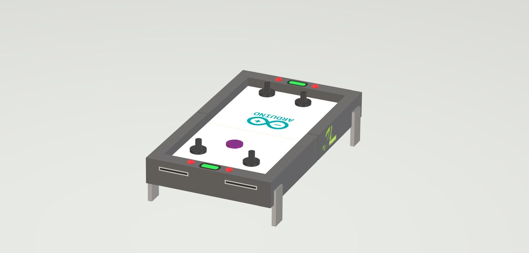 nevon air hockey table