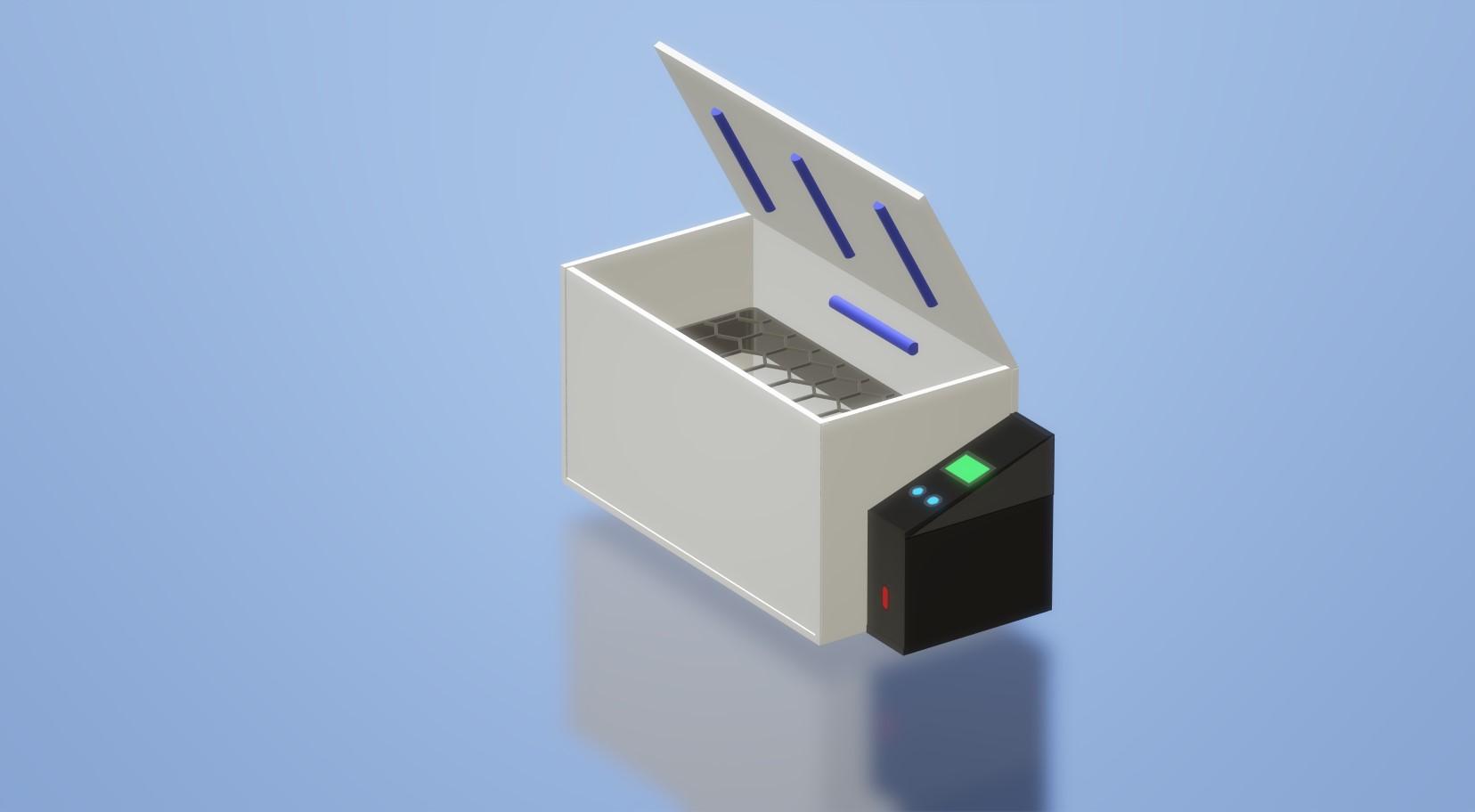 arduino corona sanitizer chamber