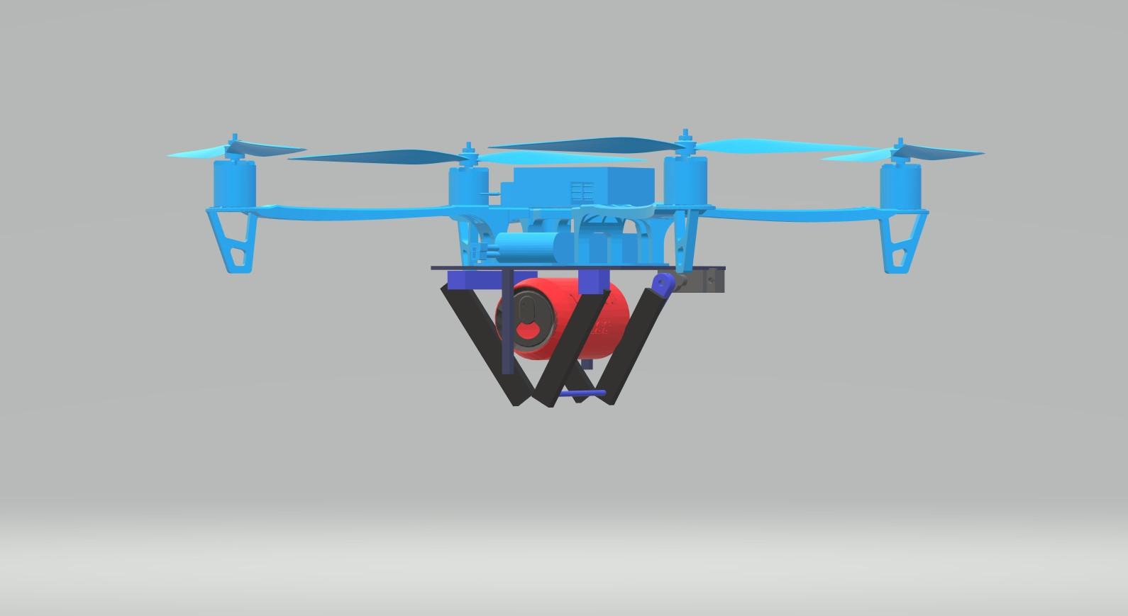 Nevon diy anti riot drone
