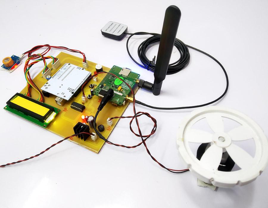 arduino alcohol sense engine lock