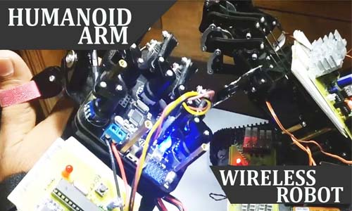 Robotic Bionic Arm Motion Controlled
