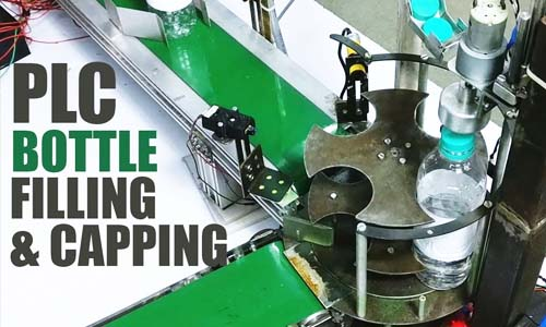 bottle filling capping system