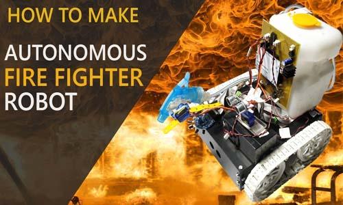 Arduino Fire Fighter Robot