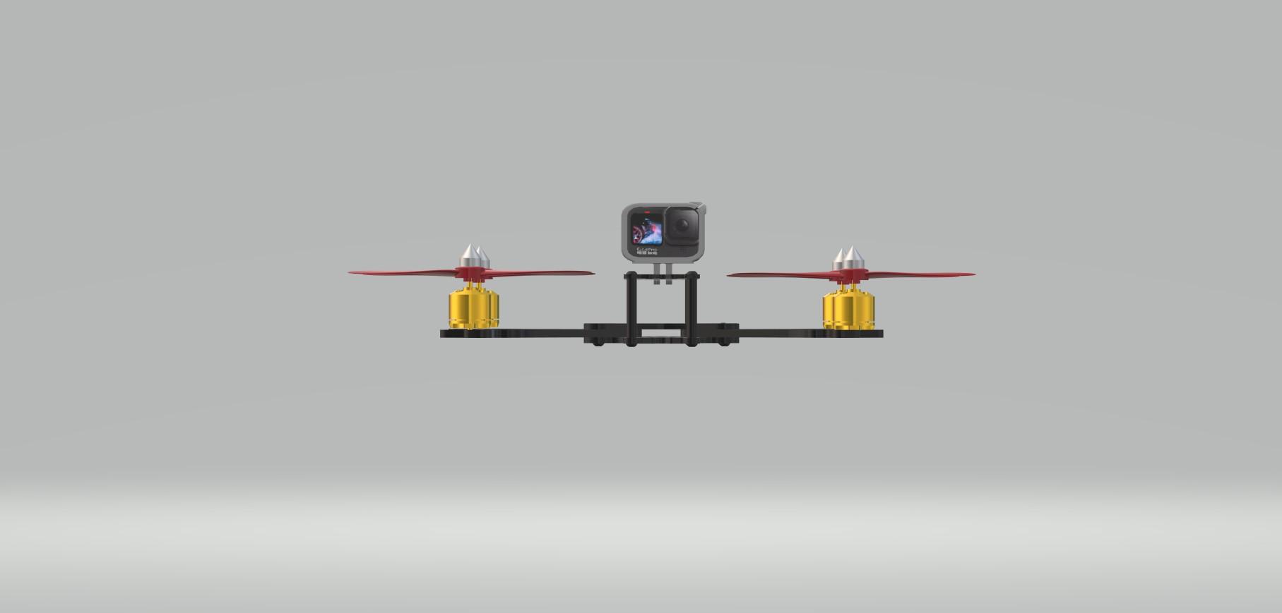 Nevon quadcopter action camera
