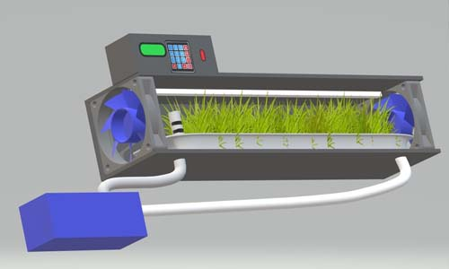 Hydroponic Indoor Fodder Grow Chamber