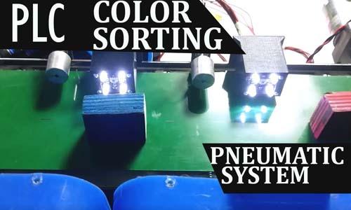 nevon conveyor color sorting
