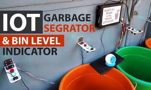 IOT garbage indicator ras pi