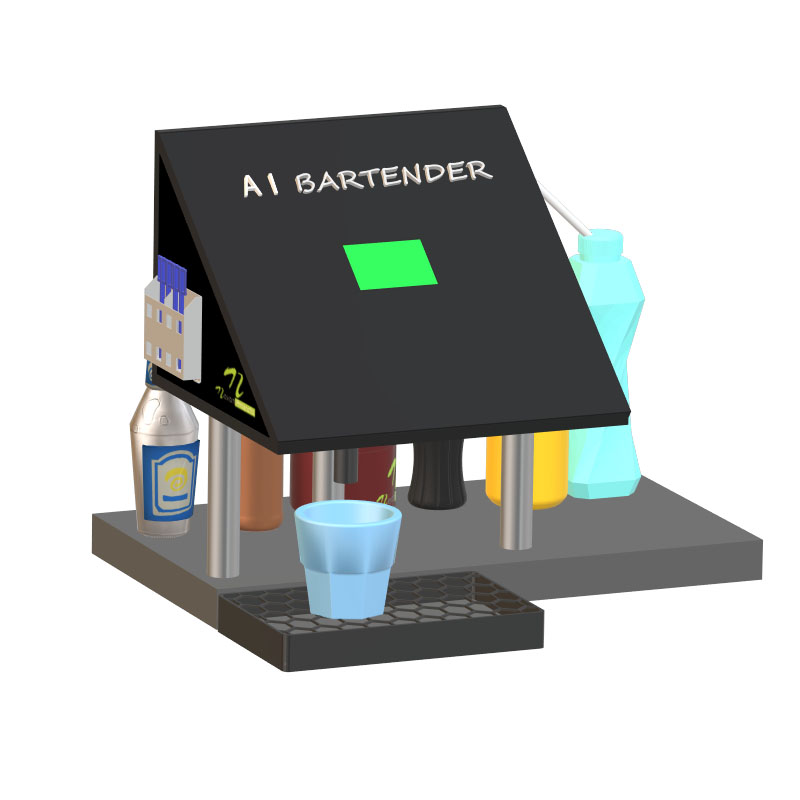 Nevonprojects ai bartender cocktail machine