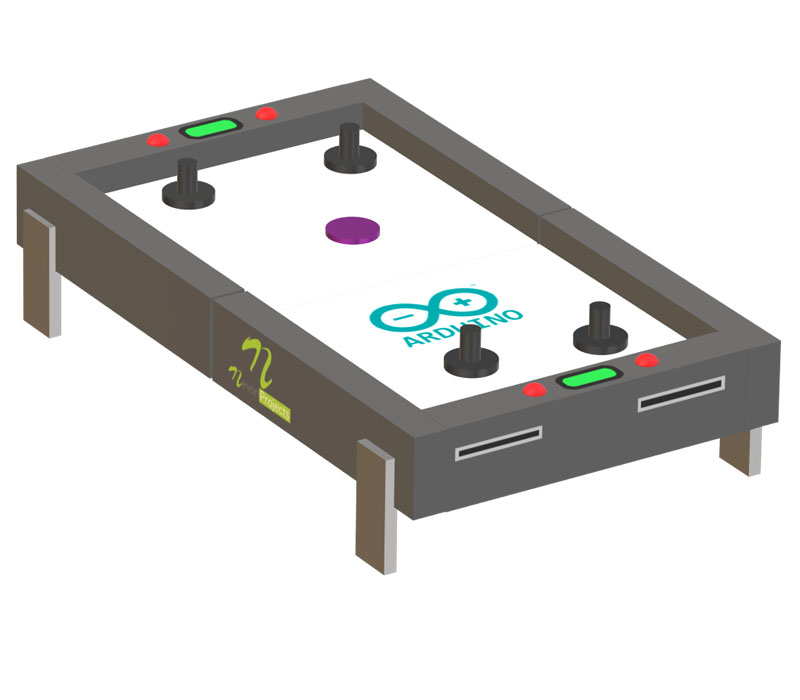 Nevonprojects arduino Air Hockey Table