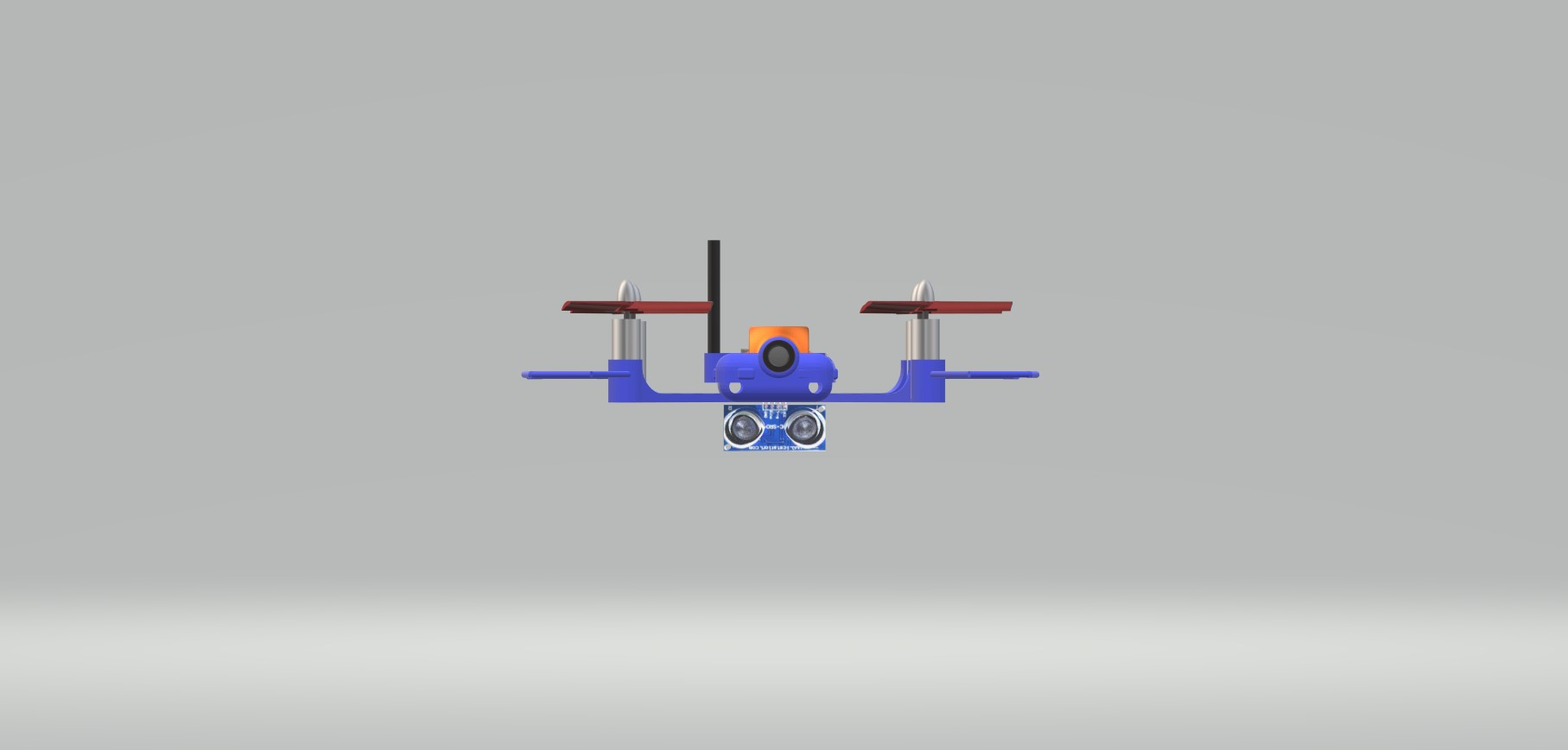 Nevon quadcopter obstacle detector