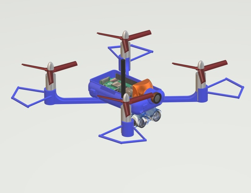 Nevonprojects android obstacle drone