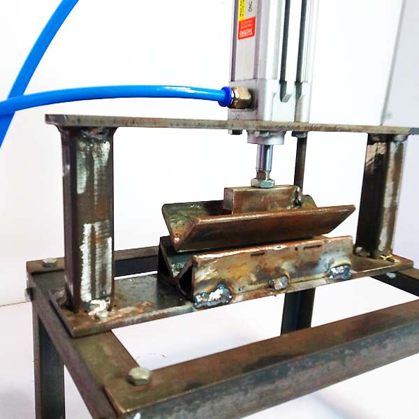 Nevonprojects pneumatic sheet bending machine