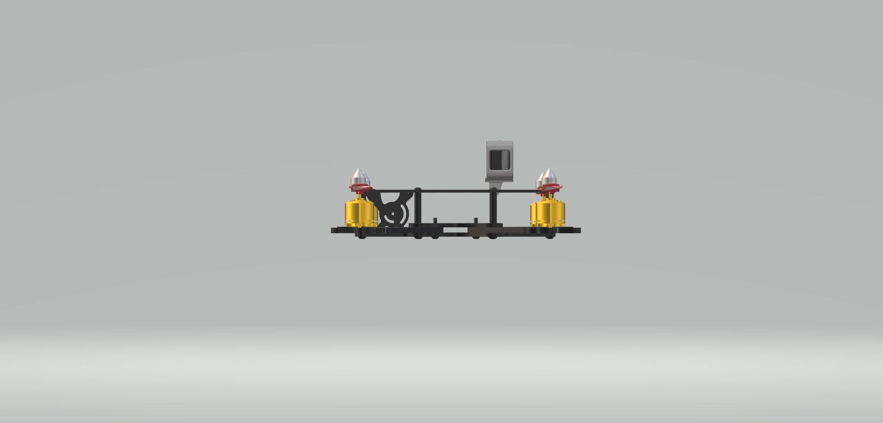 Nevon racing quadcopter