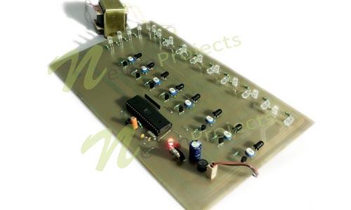 8051 vehicle sensing streetlight