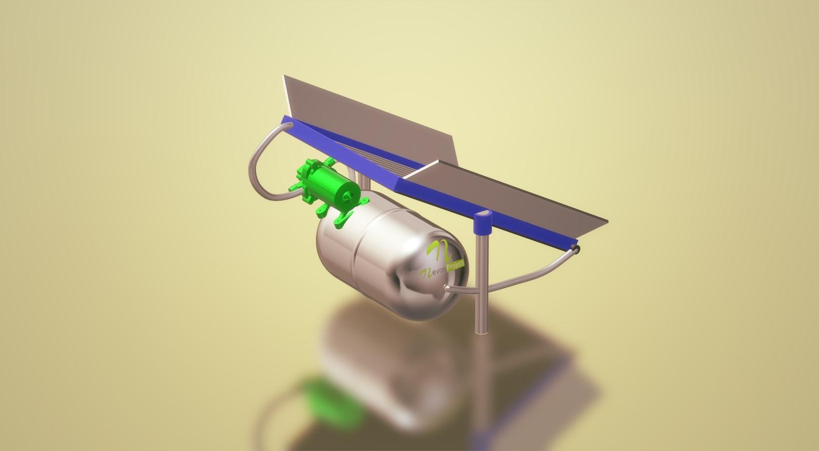 nevon solar water heater
