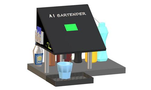 Raspberry Pi Bartender Machine