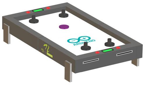 Arduino Air Hockey Table