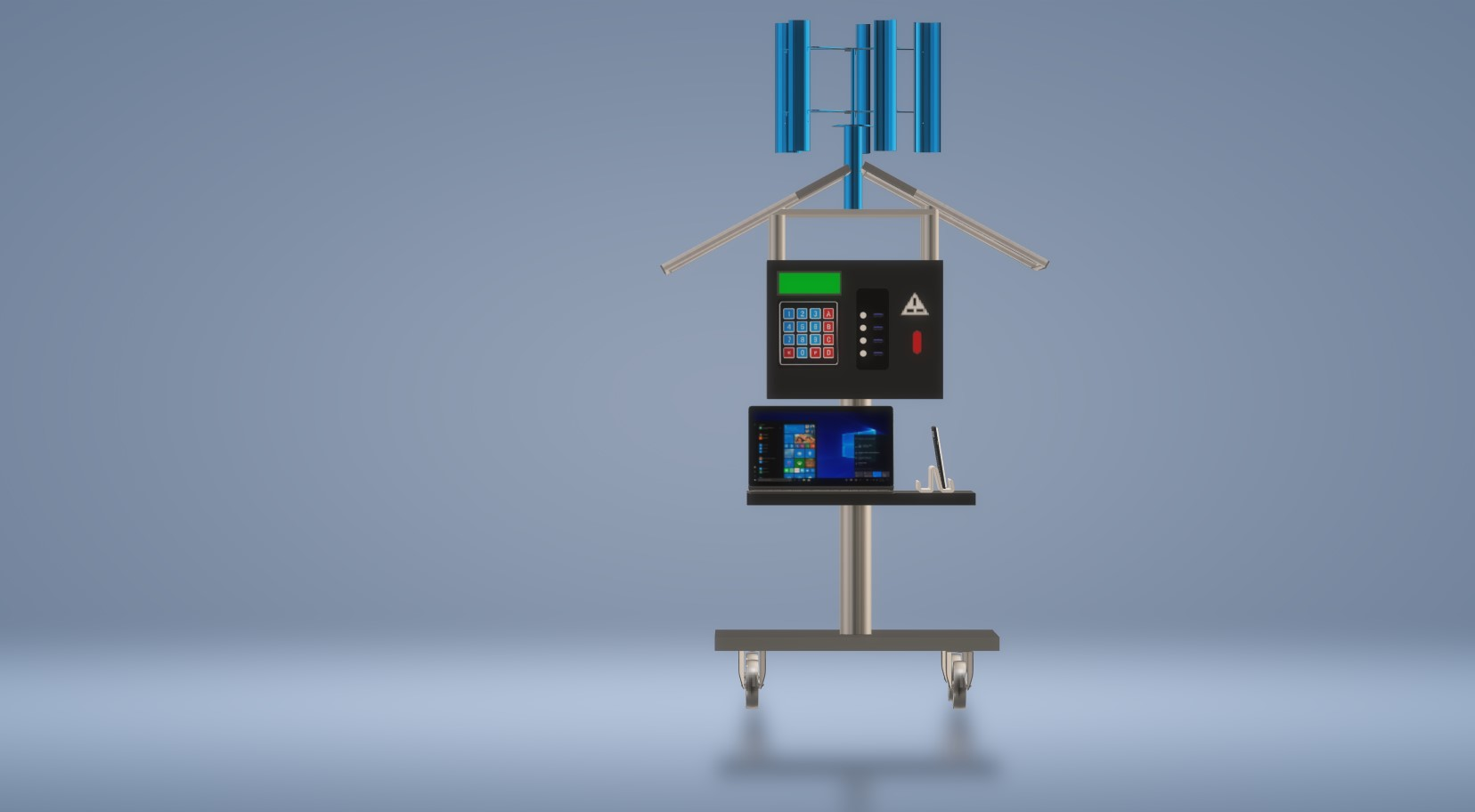 Nevon solar mobile laptop charging