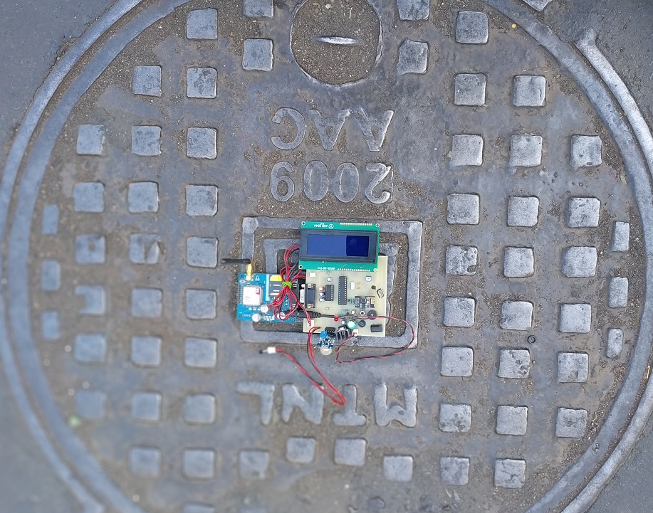 IOT based Manhole Detection and Monitoring
