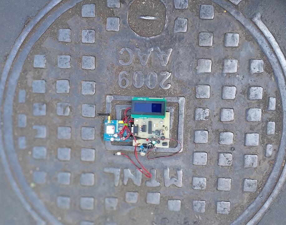 IOT based Manhole Detection and Monitoring