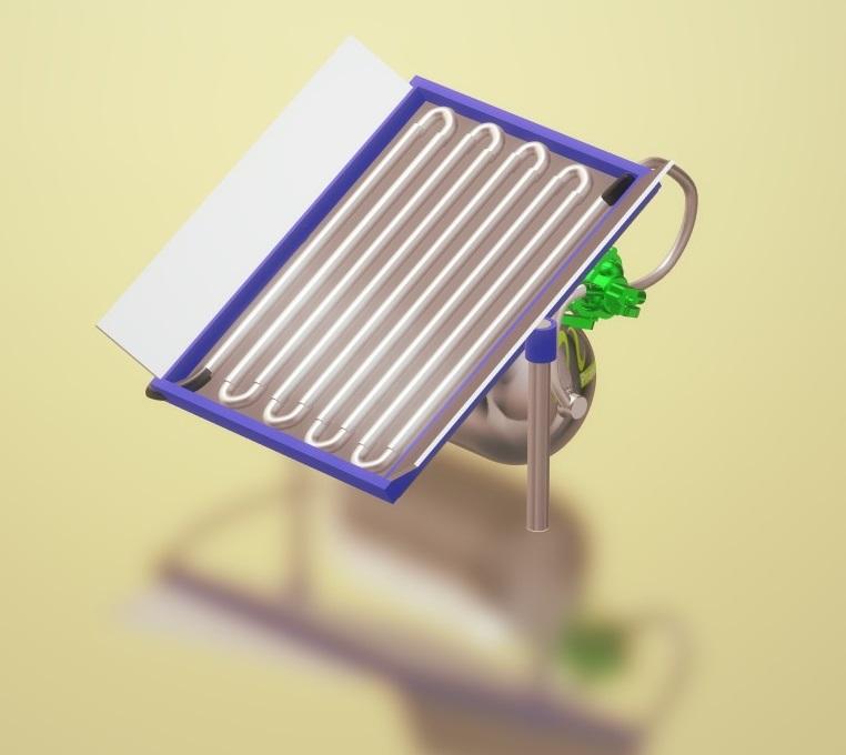Nevon sola water heater