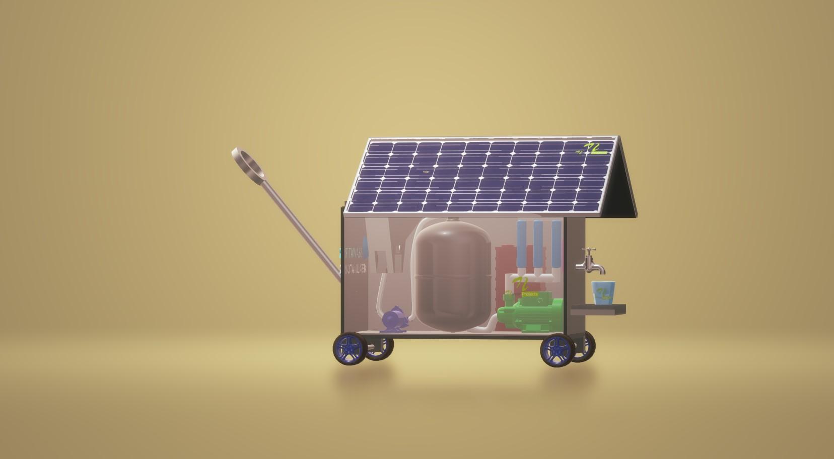 nevon solar seawater purifier