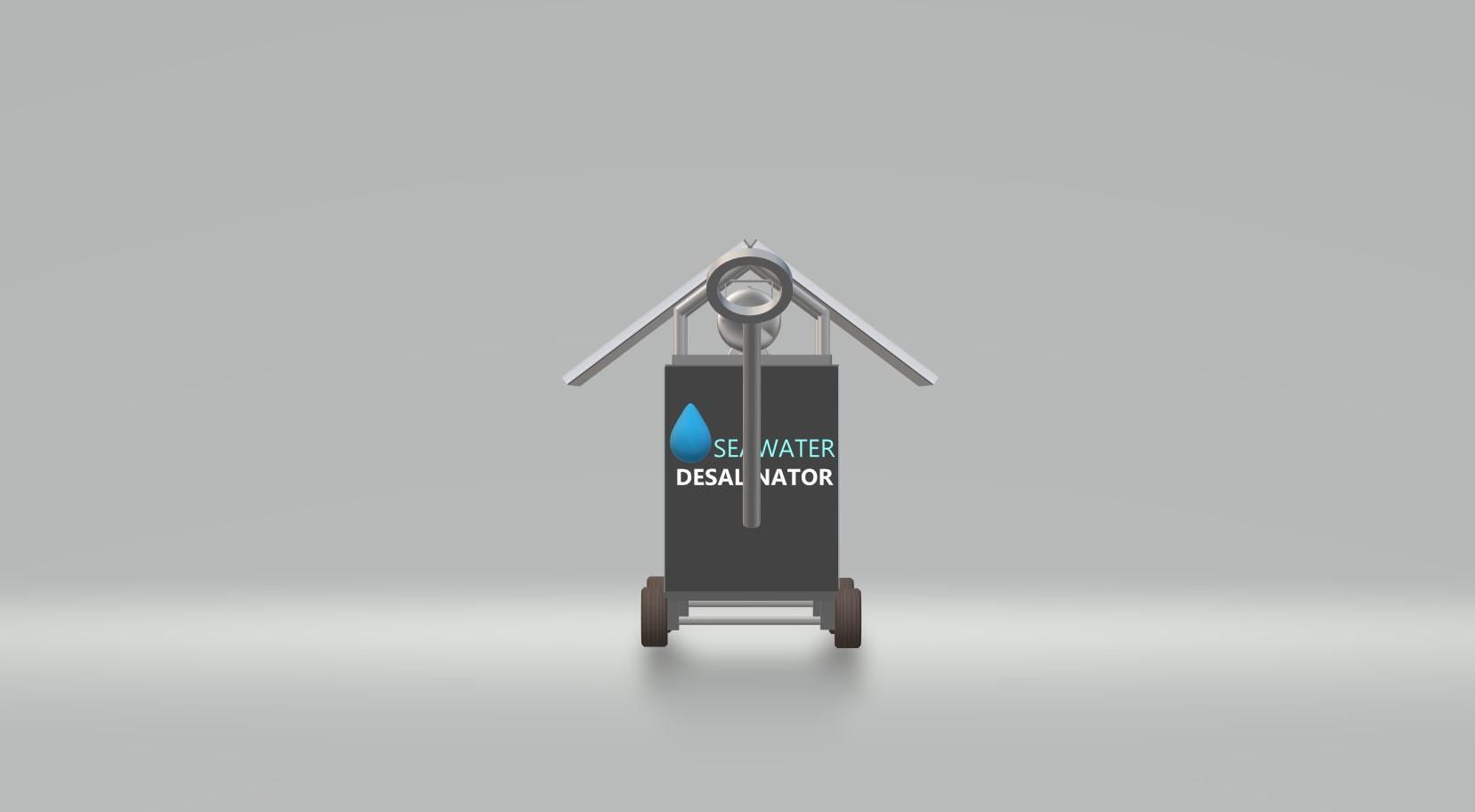 Nevon water desalination and purifier