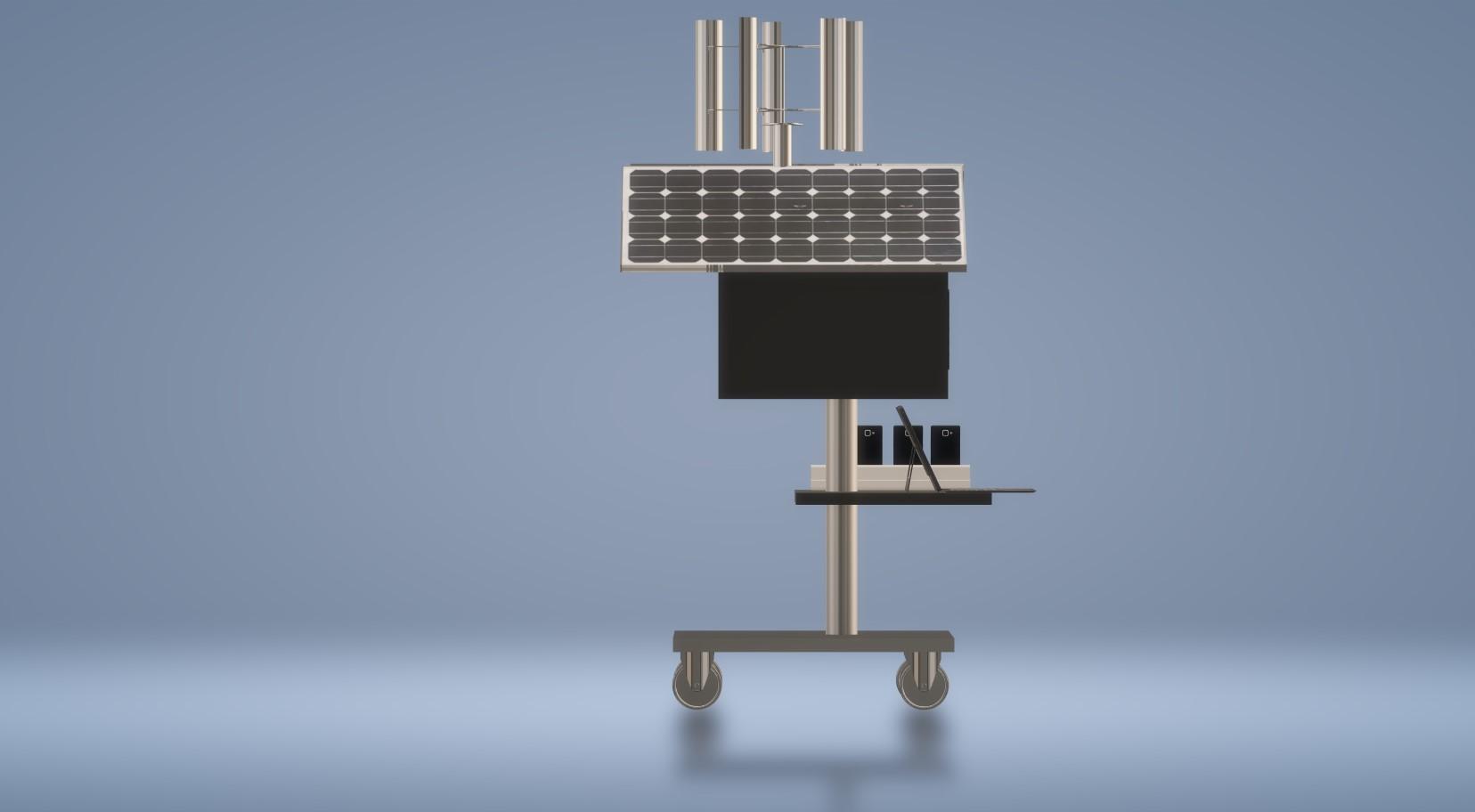 Nevon solar charging station