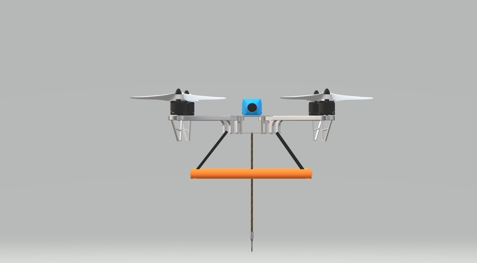 Nevon fishing drone front