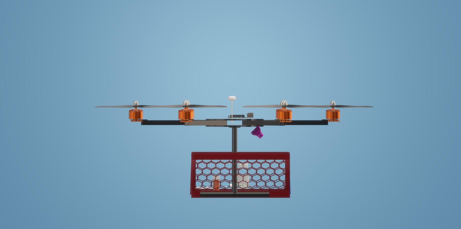Nevon medicine delivery drone