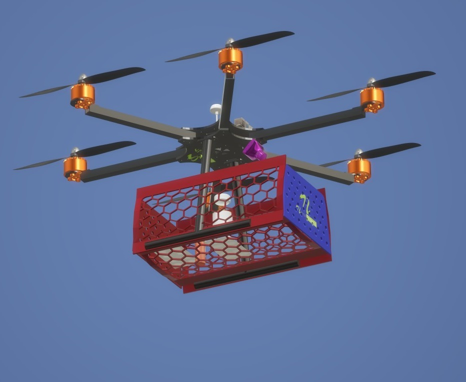 Nevon medical delivery drone