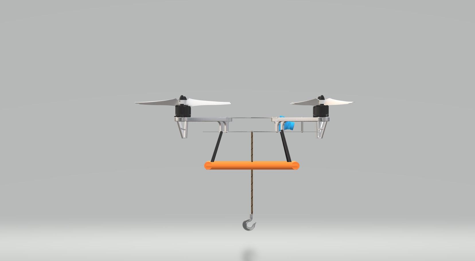 Nevon fishing drone side