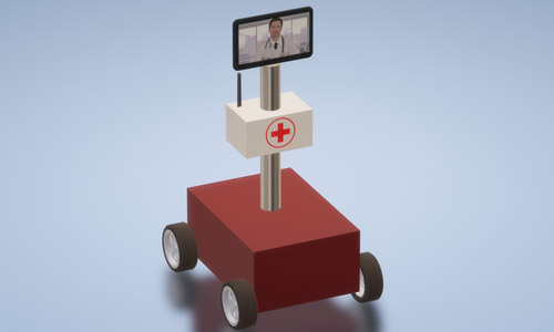 IOT Virtual doctor robot nevon