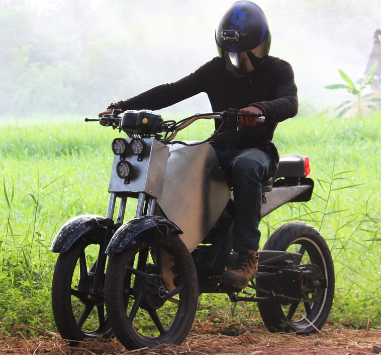 Nevon 3 wheel electric bike gearbox