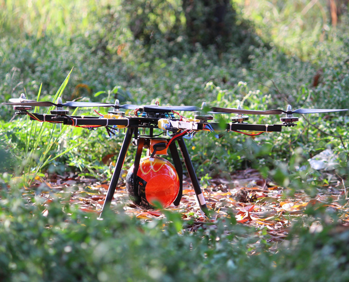Fire fighter drone