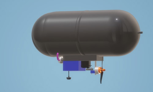 iot weather station airship